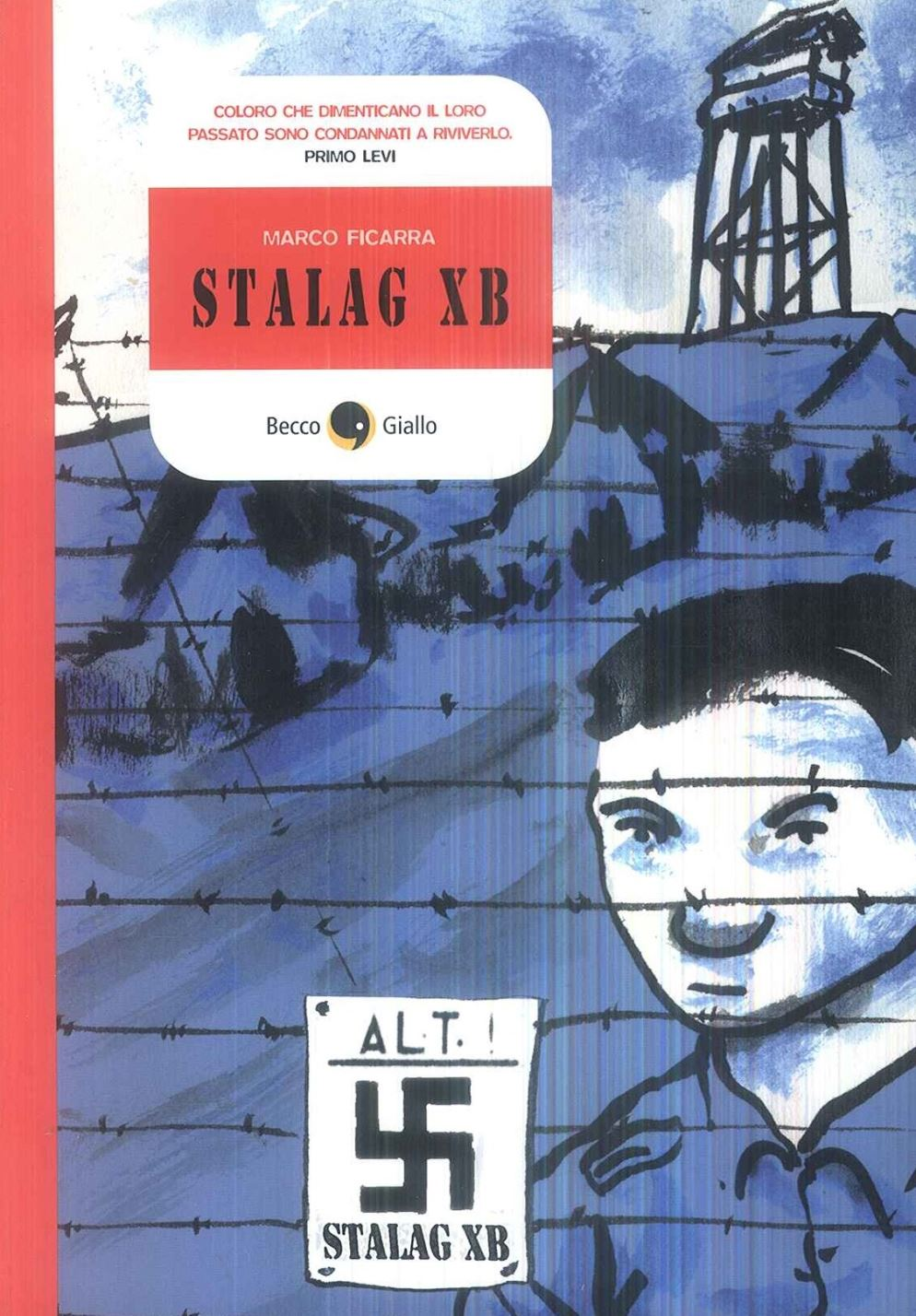 Stalag X B, couverture