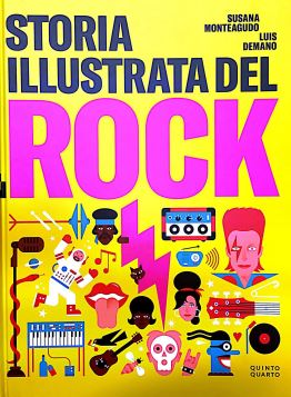 STORIA ILLUSTRATA DEL ROCK - 9788885546103