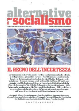 ALTERNATIVE PER IL SOCIALISMO GIU/LUG/AGO 2019 N.54 - 9788832827613