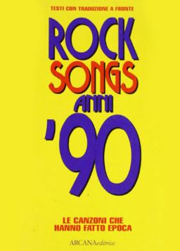ROCK SONGS 90 - 9788879661478