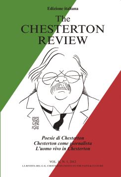VOL II N.1/2012 THE CHESTERTON REVIEW F.C. - 9788867080403