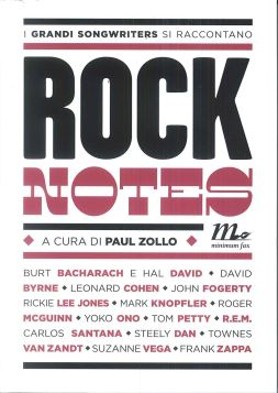 ROCK NOTES 2A ED. - PAUL ZOLLO - 9788875217488