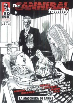 THE CANNIBAL FAMILY N. 2: LA MASCHERA DI SANGUE - 9788890523250