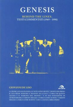 GENESIS BEHIND THE LINES TESTI COMMENTATI (1969-1998) - 9788862314039