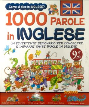 1000 PAROLE IN INGLESE - 9788866401353