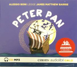 PETER PAN GOLD - JAMES MATTHEW BARRIE - 9788869862533