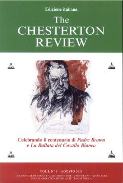 VOL. I N. 1/2010 THE CHESTERTON REVIEW - 9788871809625