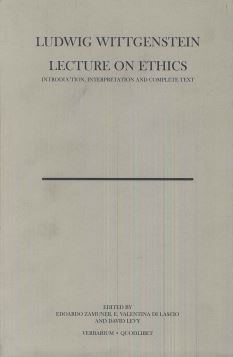 LECTURE ON ETHICS - 9788874621378