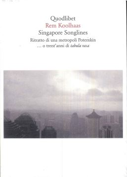 SINGAPORE SONGLINES - 9788874622580
