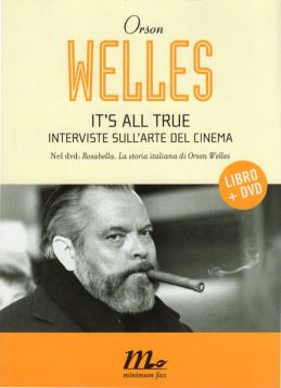 IT'S ALL TRUE INTERVISTE SULL'ARTE DEL CINEMA LIBRO -DVD - 9788875212582