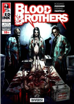 BLOOD BROTHERS N. 1: DIVERSI - 9788899413156