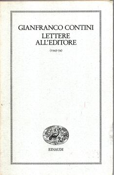 LETTERE ALL'EDITORE 1945-54 - FRI0000000380
