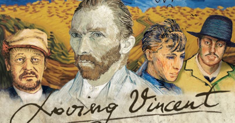 Al cinema Loving Vincent, il primo film interamente dipinto su tela