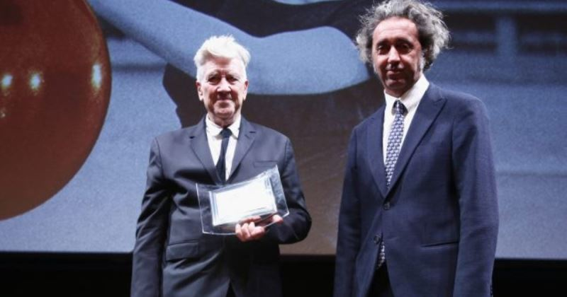 David Lynch e il premio alla carriera: